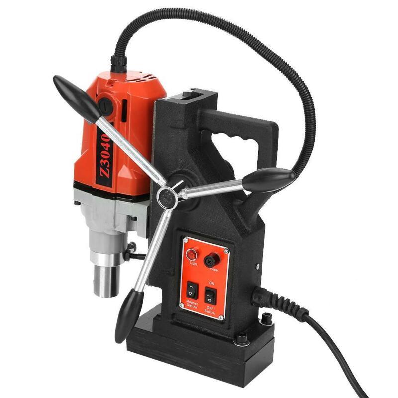 Magnetic Drill 9 PCS HSS Kit Multi-Function Metal Drill Press 1100W High Power