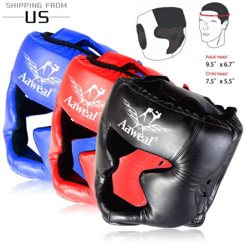 Head Guard MMA Helmet Protector Boxing Training Headgear Martial Art Sparring