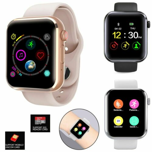 Fashion Women Ladies Smart Watch GSM Phone Bluetooth Fitness Tracker Universal Cell Phones & Accessories