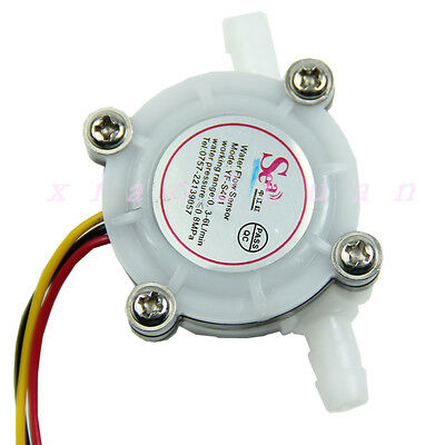 Flow Sensor Switch Meter Flowmeter Counter 0.3-6lmin 1pc Water Coffee New