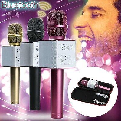 Q9 Wireless Karaoke Handheld Microphone USB KTV Player Bluetooth Mic Speaker