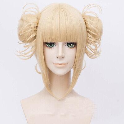 ademia Toga Himiko Hellblond Perücke Haar Cosplay Kostüm (Mein Kostüm Perücken)