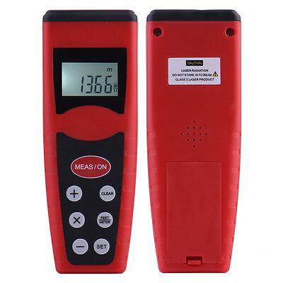 60ft18m Lcd Digital Laser Distance Feet Meter Range Finder Measure Diastimeter