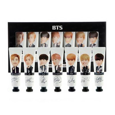 BTS Hand Cream Collection 30ml x 7EA Limited edition Standard free shipping