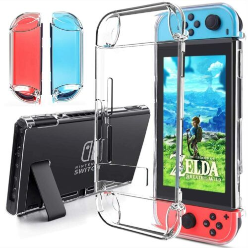 Joy-Con Controller Schutzhülle For Nintendo Switch Griff Transparent Hülle Case