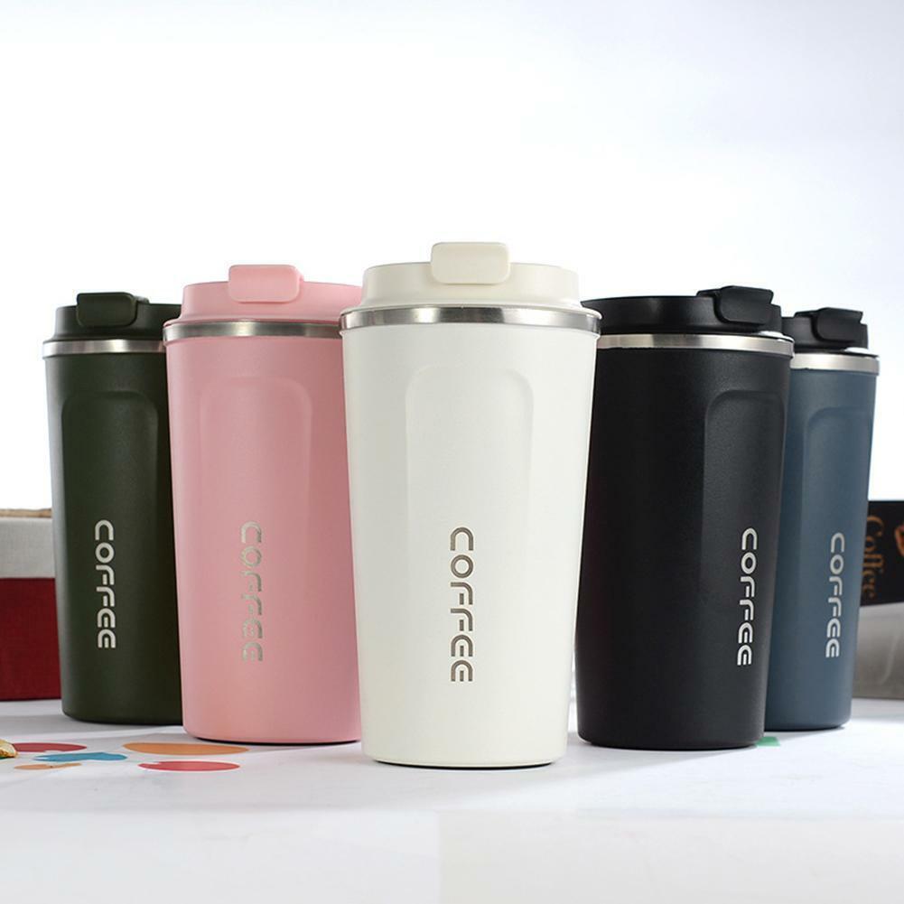 Stainless Steel Tumbler Vacuum Insulation Travel Mug Cup Cof