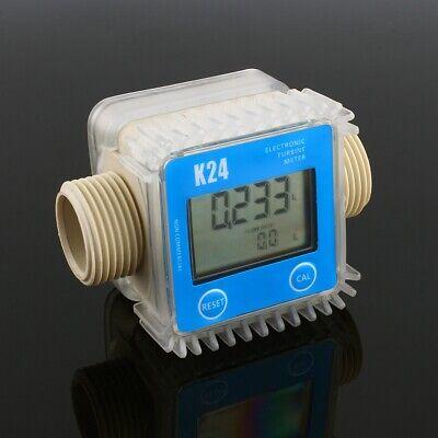 K24 Lcd Digital Chemical Liquid Urea Water Flow Meter 1 10-120lmin