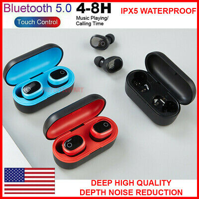 For A9 TWS Bluetooth 5.0 True Wireless Earbuds Sports Headsets Stereo Headphones
