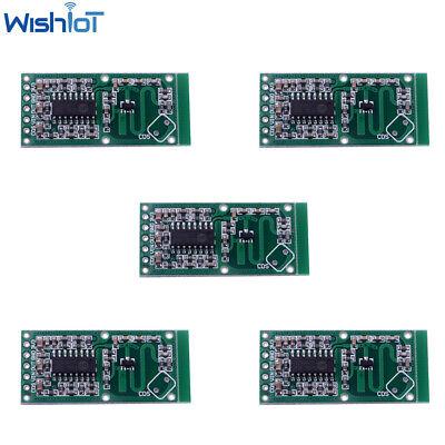 5pcs Rcwl-0516 Microwave Doppler Radar Sensor Switch Module Board Detector For A