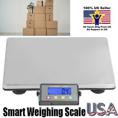 Heavy Duty Large Digital Shipping Postal Parcel Scale 440lbs W Power Adapter Us