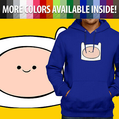 Adventure Time Finn the Human Cute Hero Unisex Pullover Hoodie Hooded Sweater