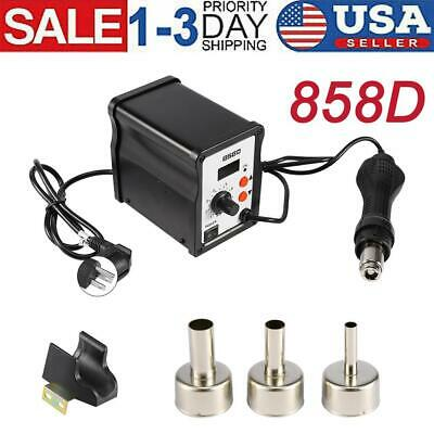 858d 700w Smd Led Electric Hot Air Gun Rework Soldering Station Iron Low Noise