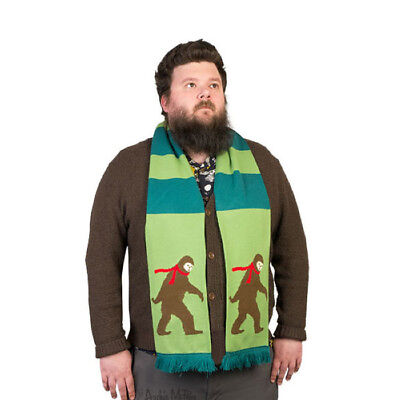 Bigfoot Scarf Forest Green Winter Cold Adult Child Costume Accessory - Bigfoot Costume Kids