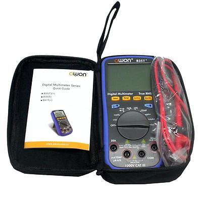 Owon B35t Multimeter With True Rms Measurement Bluetooth Data Recording Usa