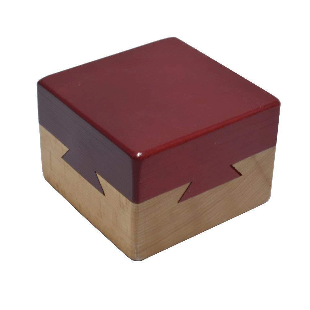 Secret Puzzle Box Brain Teaser Games Wooden Gift Hidden Diam