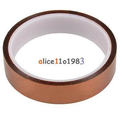 20mm 2cm X 30M 100ft Tape High Temperature Heat Resistant Polyimide