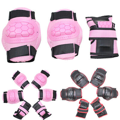 Skating Protective Gear Sets Elbow Knee Pads Bike Skateboard Adult Kid