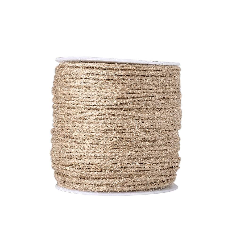 1 Roll 2mm Tan Colored Hemp Cord for Jewelry Making 109.36ya