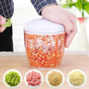 Food Speedy Chopper Spiral Slicer Salad Shredder Fruit Vegetable Onion Cutter UK