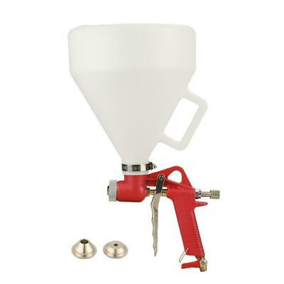 Air Hopper Spray Gun Paint Texture Tool Drywall Render Plaster Painting 3 Nozzle