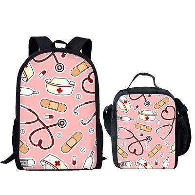 Pink School Backpack 17