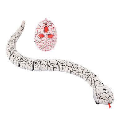 Remote Control Snake Infrared Rattlesnake Kids Animal Trick Terrifying RC Toy