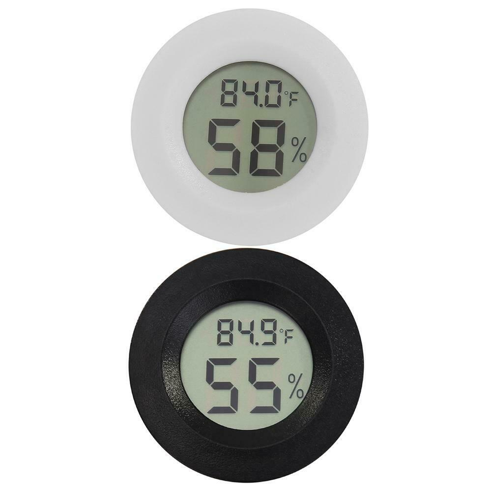 Digital LCD Thermometer Hygrometer Electronic Temperature Hu