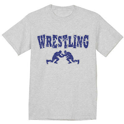 - wrestling shirt high school college olympic wrestling design tee shirt men's