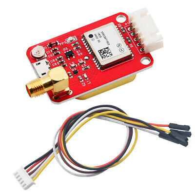 7m Gps Module Satellite Positioning Onboard Ceramic Antenna Serial For Arduino