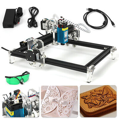 Laser Engraving Machine Diy Kit Desktop Laser Cutting Engraving Area 500mw
