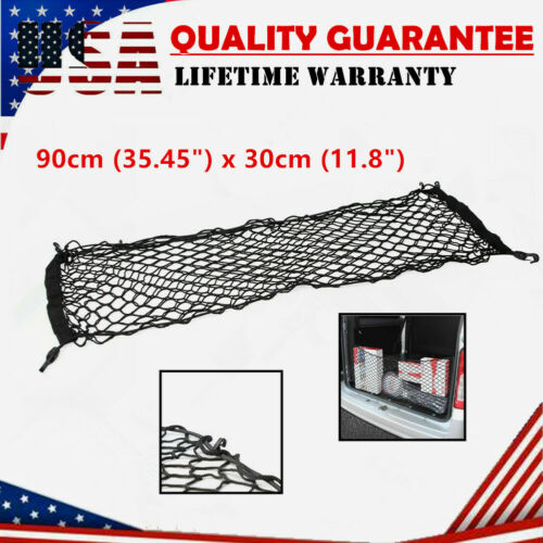 Universal Car Pickup Accessories Rear Envelope Trunk Mesh Cargo Net Storage