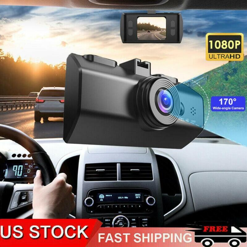 1080P Car Driving Recorder Dash Video Camera DVR Recorder Night Vision G-sensor