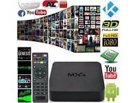 GENUINE MXQ PRO Quad Core Kodi Android 6.0 TV Box Fully Loaded XBMC Free Sports Movies