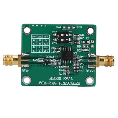 Mb506 Module 2.4g Prescaler 64 128 256 Frequency Divider For Dbs Catv Pcb Board
