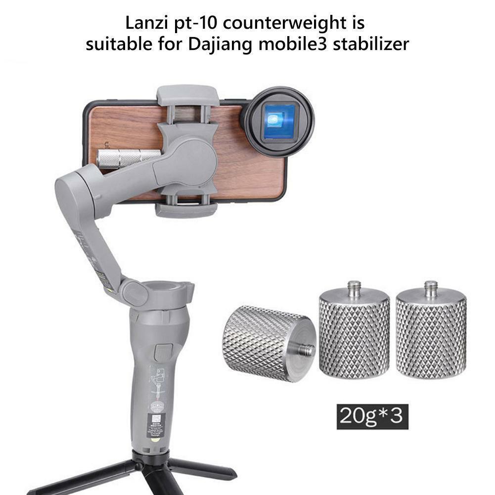 Ulanzi PT-10 Gimbal Counterweight Balance for DJI Osmo Mobil