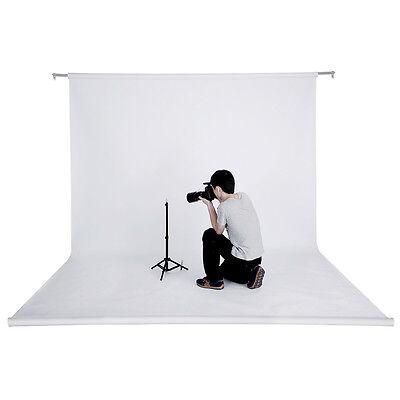 Neewer 53 Inch x 12 Yard/1.36 M x 11M Studio White Backdrop Background Paper