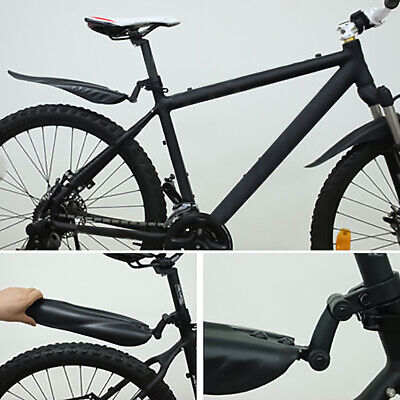 Bicycle Mountain Bike MTB Cycling Front Rear Fenders Splash Guard Mudguard -