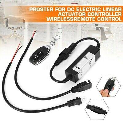 For Dc Eléctrico Actuador Lineal Mando, Duradero 12V Control Remoto Inalámbrico