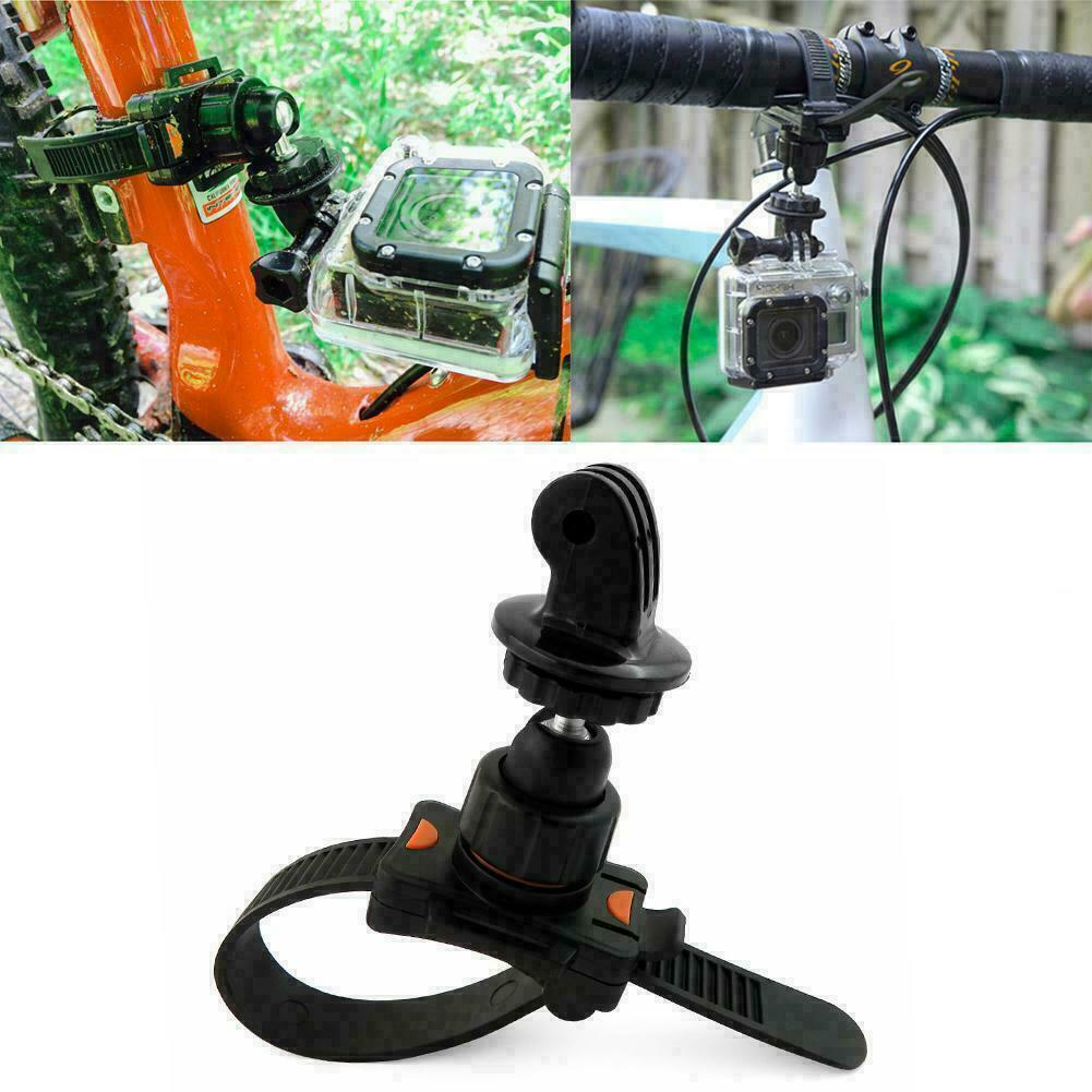 Roll Bar Zip Mount For GoPro Hero 2 3 3 4 5 6 Fits Cage Seatpost T5C2 F1Q6 - $9.11
