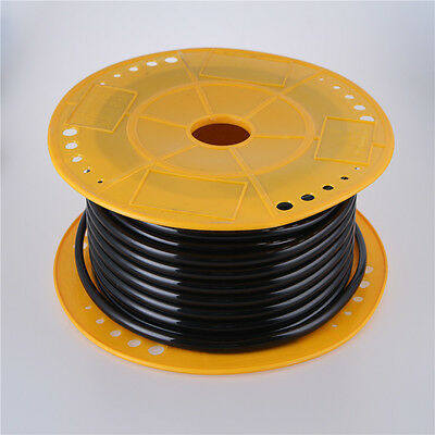 25meter Tube 4mm X 6mm Polyurethane Pu Hose Fuel Gas Air Pneumatic Pipe Black