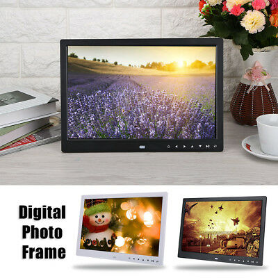 "7/13/15"" HD Digital Photo Frame Album Picture MP4 Movie Player Remote Control SP"