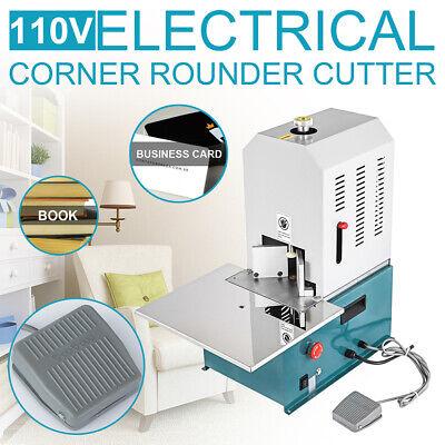 Electric Round Corner Machine Heavy Duty 7 Dies Paper Cutter Machine