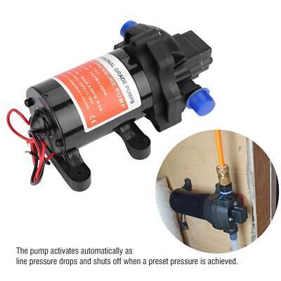 On Demand Diaphragm Water Pump 12v 3.5gpm 45psi Ideal For Caravanrvboatmarine
