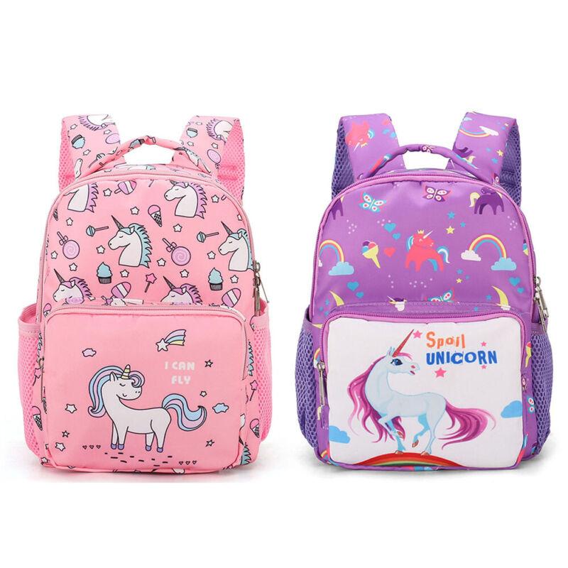Personalised Kids Backpack Unicorn Girls School Nursery Bag
