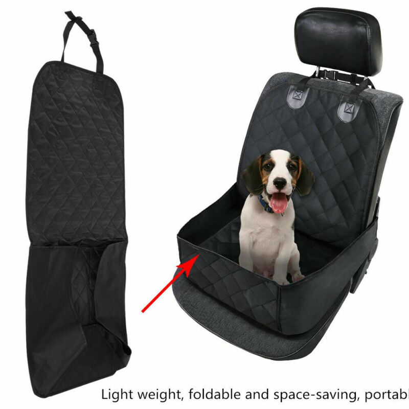 Waterproof Pet Cat Dog Car Auto Front Seat Cover Protector Mat Cushion Travel US