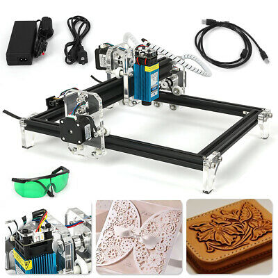 Cnc 2419 Engraving Machine Mini Diy Wood Router Grbl Control W 500mw Laser