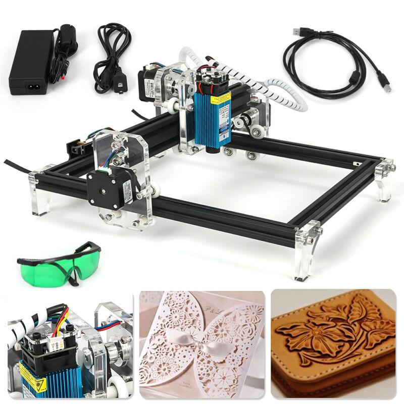 CNC 2419 Engraving Machine Mini DIY Wood Router GRBL Control w/ 500mw Laser