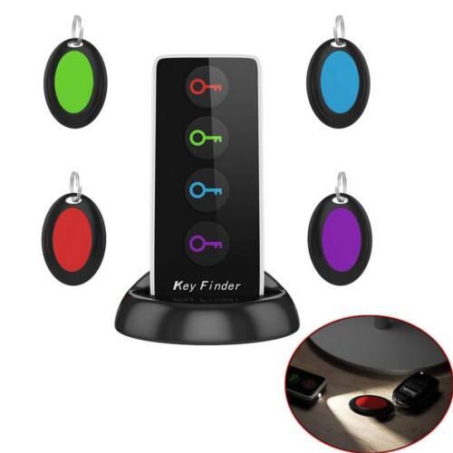 4 in 1 Wireless Key Finder Receiver Remote Control Tracker Locator Anti-Lost New Consumer Electronics