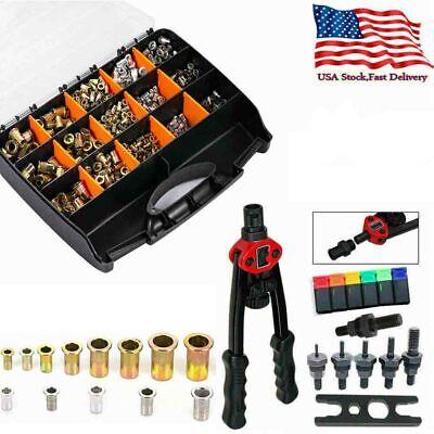 900pcs Set Nutsert Tool Kit M3-m10 Stainless Steel Hand Rivet Kit Nut Insert Us
