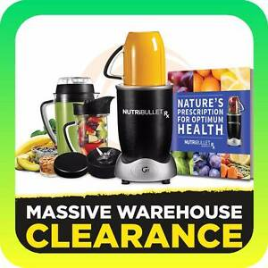 NutriBullet RX 1700W 10 Piece Set RRP $399 Tullamarine Hume Area Preview